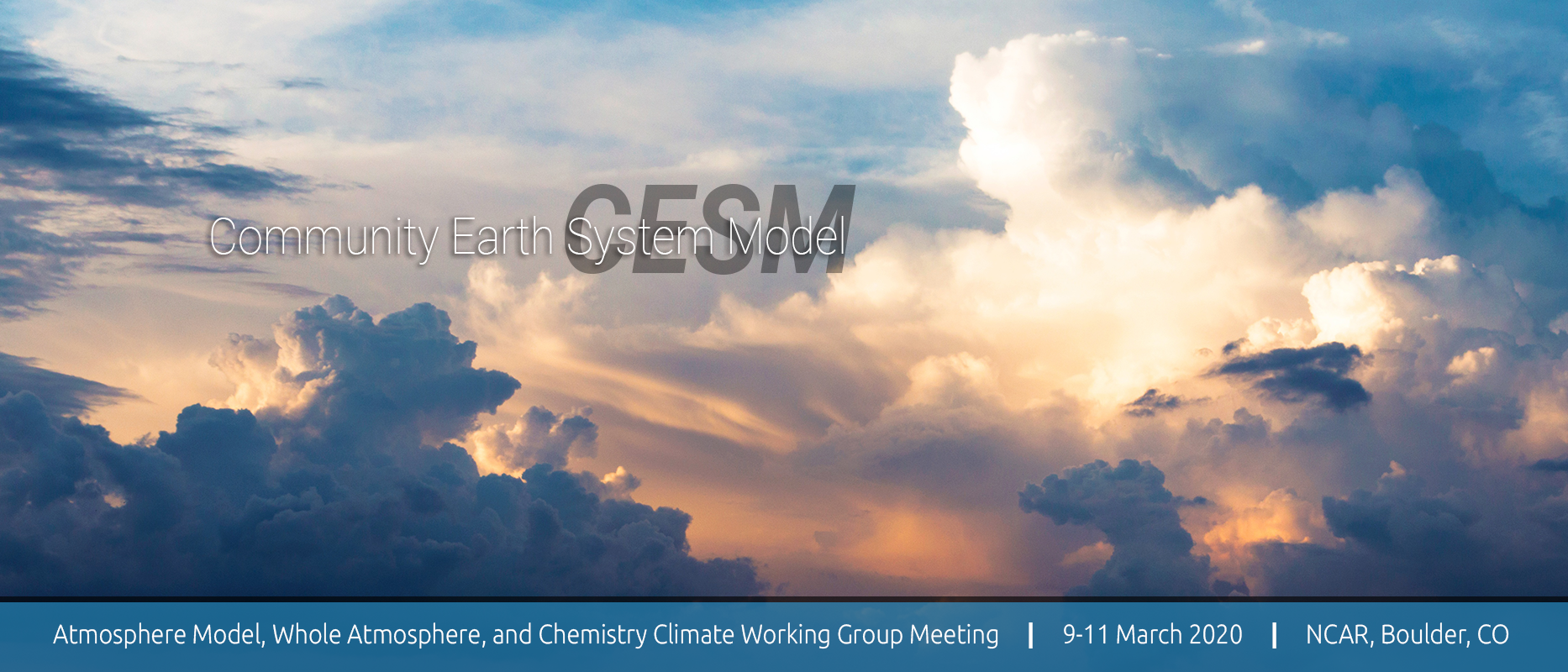 2020 CESM Atmosphere Model, Whole Atmosphere, & Chemistry Climate Working Group Meeting