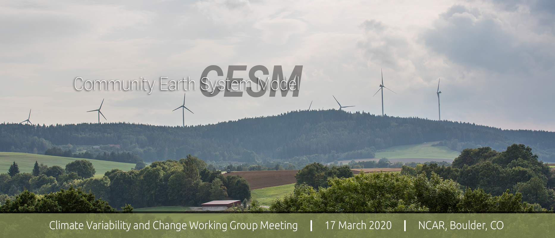 2020 CESM Climate Variability & Change Working Group Meeting